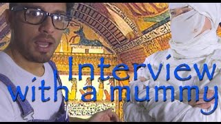Interview with a mummy - Mr. M. class room