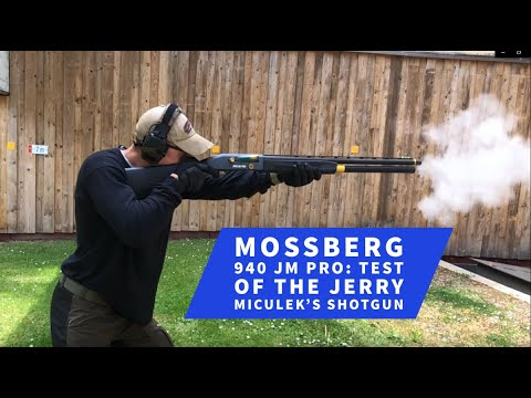mossberg-sons: Test & video: Mossberg 940 JM Pro – First test of the autoloading shotgun bearing Jerry Miculek's name