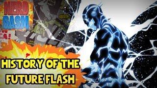 History of the Future Flash (Future Barry Allen)   Future Flash vs The Flash (Savitar True Identity)