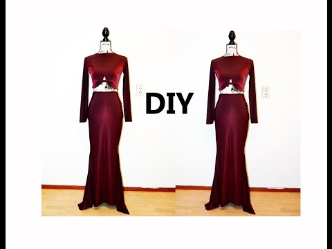 DIY Mermaid Two Piece Dress ( Easy Sewing) Mp3