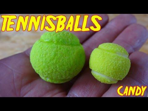 """GRAND SLAM TENNIS BALLS"" ...mit Lemon-Zitrone-Füllung"