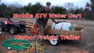 Harbor Freigt Trailer Watering Cart