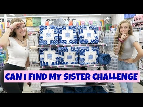 Can I Find My Sister Challenge ~ Jacy and Kacy
