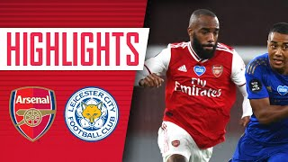 HIGHLIGHTS | Arsenal 1-1 Leicester City | Premier League | Aubameyang, Vardy