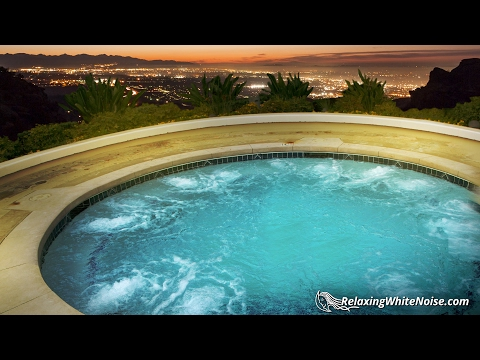 Hot Tub Sleep Machine | White Noise for Sleeping or Studying | 10 Hours Ambience