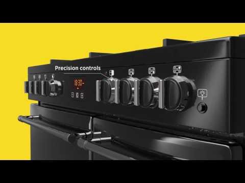 Belling Range Cooker Dual Fuel FARMHOUSE-100DFT - Various Colours Video 1