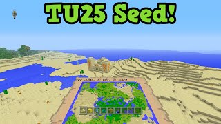 Minecraft Xbox 360 / PS3 / Minecraft Wii U Seed - 5 Villages 4 Temples