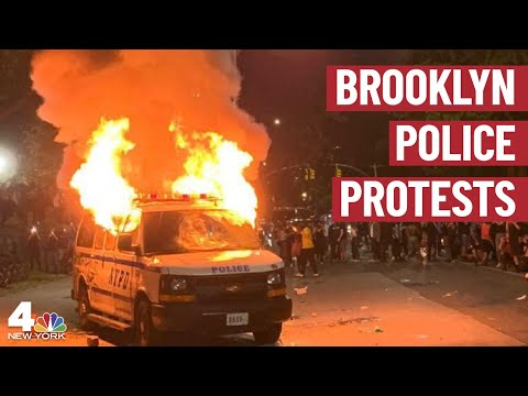 Dozens Arrested As Protests Over George Floyd's Death Erupt in NYC   NBC New York