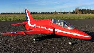 Freewing BAe Hawk T1 70mm EDF Jet Red Arrow Maiden Flight