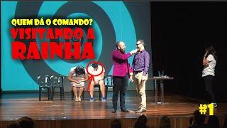 Quem dá o comando? #1 - Encontrando a Rainha da Inglaterra no palco - #Hipnose no #InsanaMente