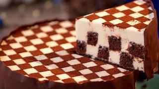 Ciasto Szachownica - deser na 10! | Smaczny.TV