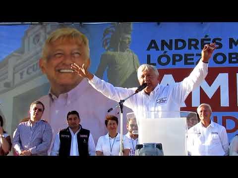 Visita de Andrés Manuel López Obrador a Tijuana, abril 14, 2018