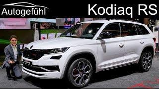 Skoda Kodiaq RS - the sportiest and most expensive Skoda SUV vRS REVIEW - Autogefühl