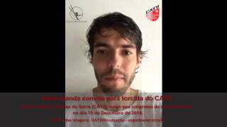 preview picture of video 'ESPORTESNET - Kaká grava mensagem para torcida de Taboão da Serra.'