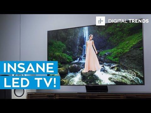 Samsung Q90 4K LED TV Hands-On: Unboxing and Setup