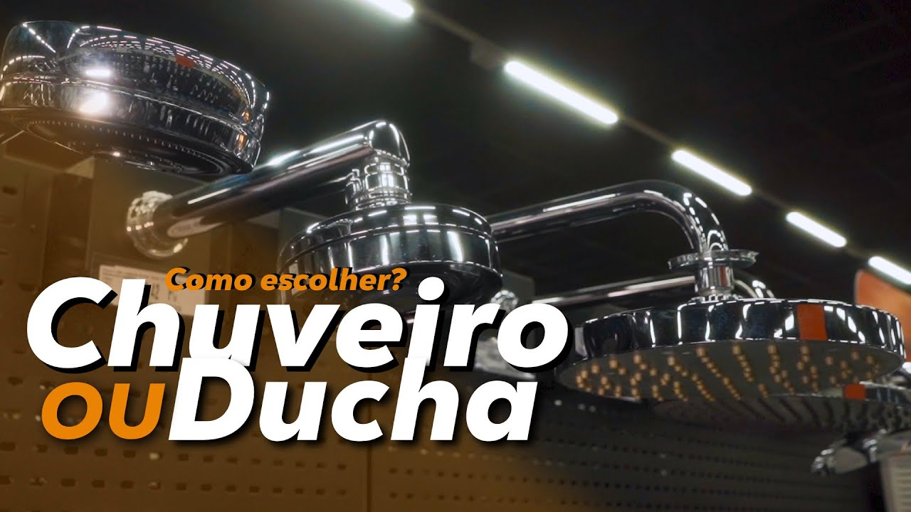COMO ESCOLHER O CHUVEIRO IDEAL