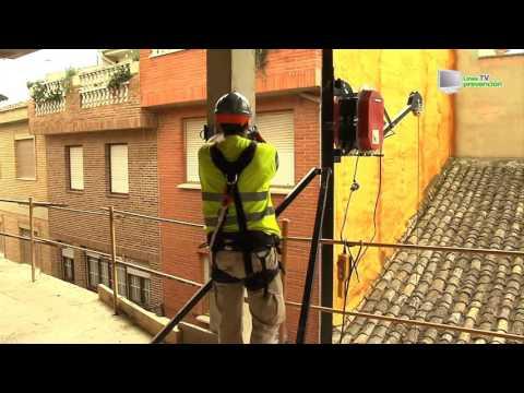 Cabrestante mecánico (maquinillo). Prevención de riesgos laborales