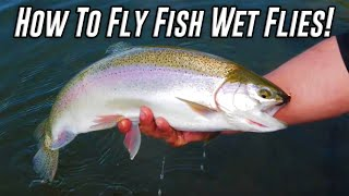 How To Catch Trout Fly Fishing With Wet Flies In Lakes & Ponds