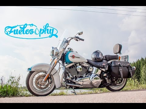 2016 Harley-Davidson Heritage Softail Classic review & test-ride. [ENG.version]