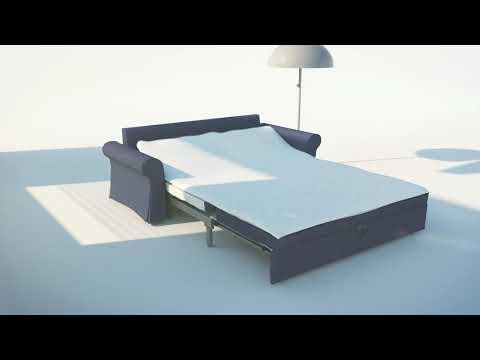 IKEA BACKABRO 3 SZEMÉLYES KINYITHATÓ KANAPÉ