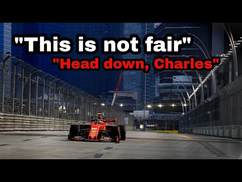 Image: Listen to an upset Leclerc on team radio after getting undercut by Vettel!