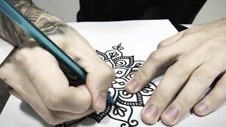 Mandala Na Cabeça E Algumas Dicas De Tattoo E Decalque ⚜️