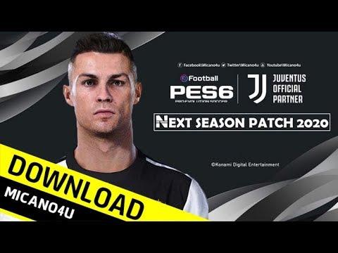 PES 6 | Next Season Patch 2020 Download (PC/HD)