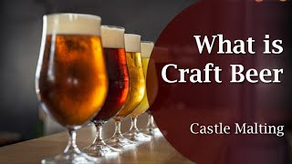 Why Craft beer is better?