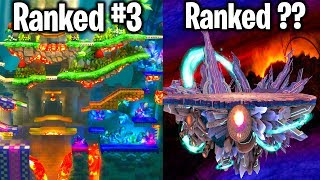 RANKING 10 WORST STAGES IN SUPER SMASH BROS ULTIMATE!