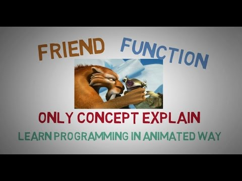 FRIEND FUNCTION IN C++ ( THE CONCEPT ) -35 - Codearchery