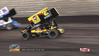Knoxville Raceway 360 Slo-Mo - May 4, 2019