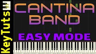 Learn to Play Cantina Band from Star Wars - Easy Mode