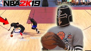 i won DOUBLES with my OVERPOWERED PURE LOCKDOWN DEFENDER.. nba 2k19 mypark servers were crashing..