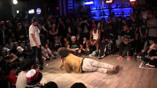 AKIHISA vs SALOMON @ HIPHOP FOREVER JAPAN 2015 BEST 6 BATTLE
