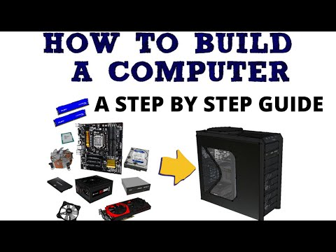Build computer from scratch | Assembling computer Guide | Build your own computer | Complete Guide