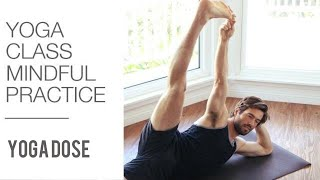 Mindful Yoga - 30 min Tone and Stretch - Full Body Yoga Workout by Yoga With Tim