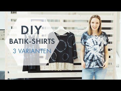 DIY Batik Shirts » 3 coole Batik-Techniken zum Selbermachen | STYLIGHT