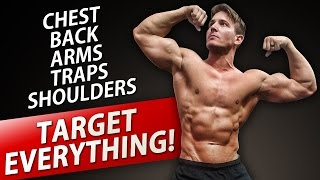 UPPER BODY DUMBBELL WORKOUT! | BUILD AN AMAZING UPPER BODY AT HOME! by ScottHermanFitness