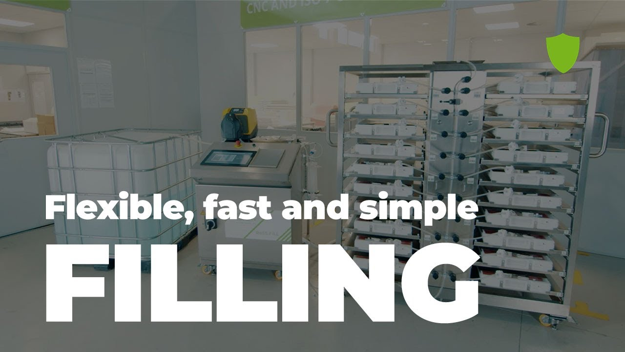 RoSS.FILL - flexible, fast, simple filling of biopharmaceuticals