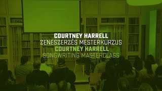 Courtney Harrell - The Music Is In Between The Notes | DEX Songwriter Expo 2018