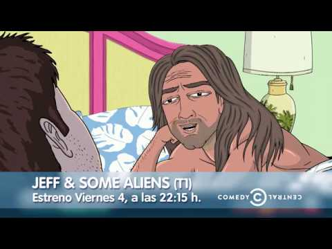 Jeff y unos aliens I Comedy Central - telecable