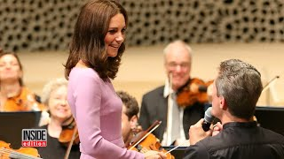 See Duchess Kate Conduct Symphony During European Tour