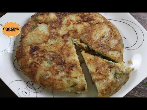 Spanish Omelette Recipe by Cooking Mount
