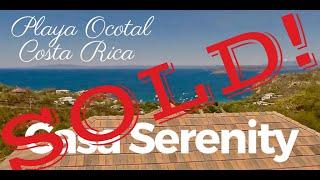 *** FOR SALE *** Casa Ocotal Serenity – Playa Ocotal, Costa Rica