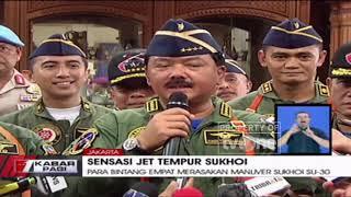 Download Video Panglima TNI Ajak Kapolri, KSAD, KSAL Rasakan Sensasi Jet Tempur Sukhoi MP3 3GP MP4