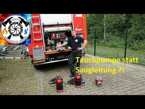 Tauchpumpe vs Saugschlauch