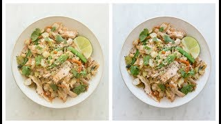 Lightroom Basics For Food Photography - How I Edit Photos