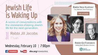 Jewish Life is Waking Up: Rabbi Jill Jacobs February 10, 2021