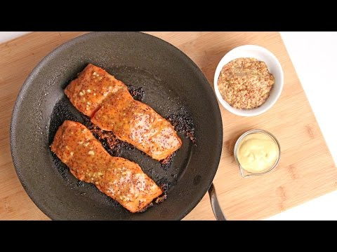Honey Mustard Salmon Recipe – Laura Vitale – Laura in the Kitchen Episode 922