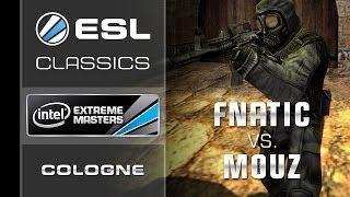 ESL Classics: fnatic vs. mousesports - Grand Final - IEM Cologne 2010 - Counter-Strike 1.6